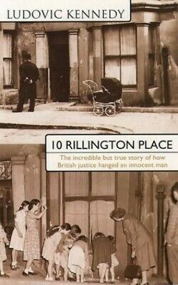 10 Rillington Place by Kennedy, Ludovic Paperback Book The Cheap Fast Free Post