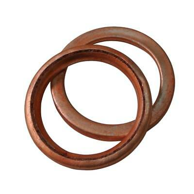 2X 32mm Copper Exhaust Gasket 110cc 125cc 140cc PIT PRO Quad Dirt Bike ATV Buggy