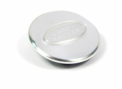 Genuine Land Rover LR008978 Satin Aluminum Wheel Center Cap