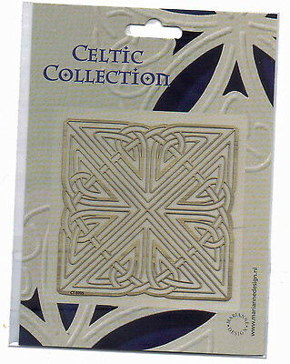 Brass/Stencil/Template/Celtic/Square/Cutting/Emboss/NEW/CT6005