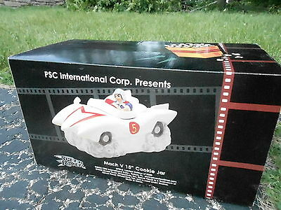 2000 (S1) Mach 5 Speed Racer Cookie Jar NRFB Limited Edition