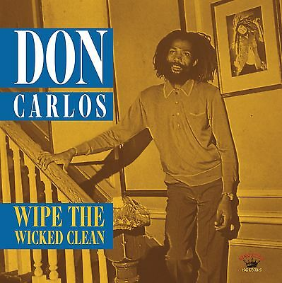 DON CARLOS - Wipe The Wicked Clean NEW VINYL LP £10.99
