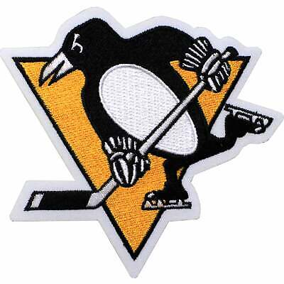 Official 2016 NHL Pittsburgh Penguins Primary Team Logo Patch (Skating Penguin)