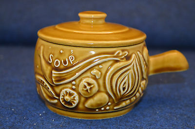 Lovely Sylvac Handled Soup Bowl With Lid No 4908 Made In England RD5590