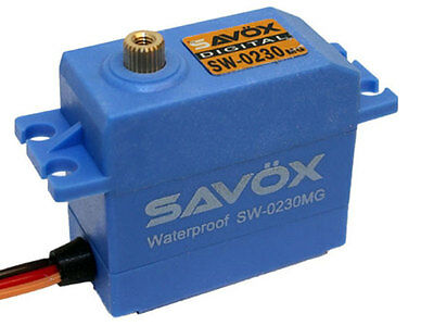 Savox Waterproof HV Digital Servo #SAV-SW0230MG