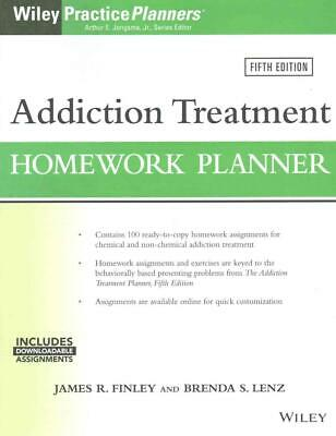 Addiction Treatment Homework Planner, Fifth Edition by James R. Finley (English)