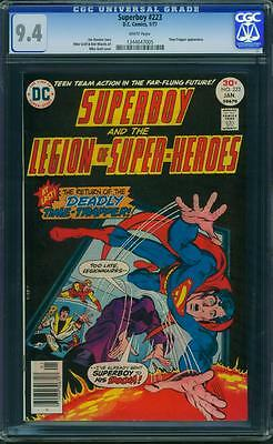 Superboy 223 Cgc 9.4 - White Pages