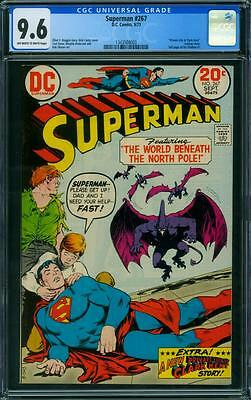 Superman 267 Cgc 9.6 - Ow/w Pages