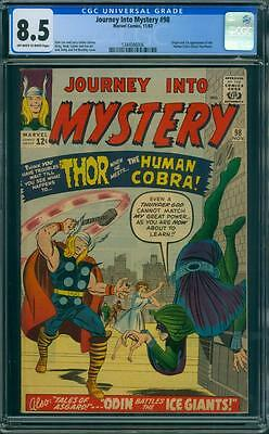 Journey Into Mystery 98 Cgc 8.5 - Ow/w Pages