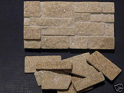 25 Sq Ins Rough Faced Yorkshire Stone Facing Slips