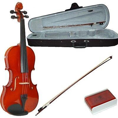 New Madera 1/2 Violin Package With Case, Bow, Rosin And Spare Strings - 1/2 Size