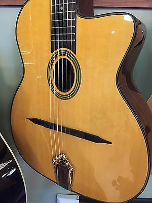 Beautiful New Aria Mm-20 Pro Gypsy Jazz Acoustic Guitar