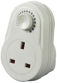 Plug in Dimmer 13A Adjustable Light Control Switch UK