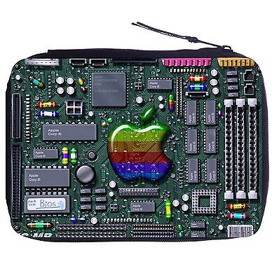 Circuit Motherboard Color Pen Case Bag Stationery Kit