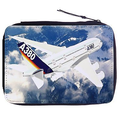 Airbus A380 Color Pen Case Bag Stationery Kit
