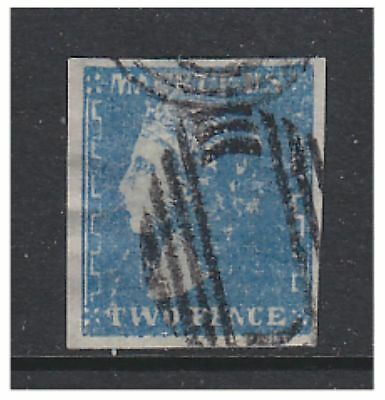 Mauritius - 1859, 2d Blue - 4 Good Margins - Good Used - SG 43a