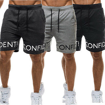 New Men's Casual Summer Sport Jogger Training Gym Pants Trousers Shorts S M L XL