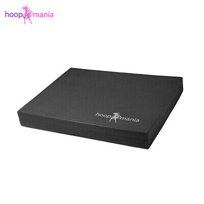 Hoopomania balance mat, pad for coordination therapy, black