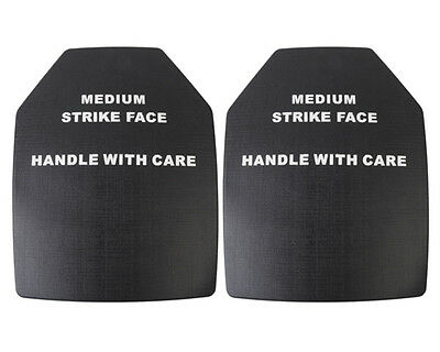 2 pcs SAPI Dummy Thick Ballistic Plate Set for Hunting Paintball Tactical Vest