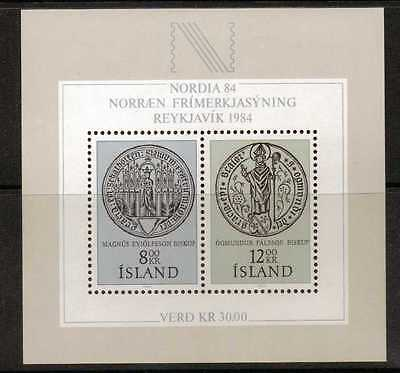 Iceland Sgms636 1983 Nordica 84 Mnh