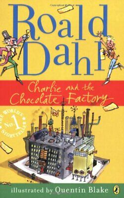Charlie and the Chocolate Factory by Roald Dahl Paperback Book The Cheap Fast