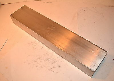 "HUGE BAR OF ALUMINUM STOCK 2-1/2""  X 4""  X 19-1/8"" for Clausing Bridgeport Mill"