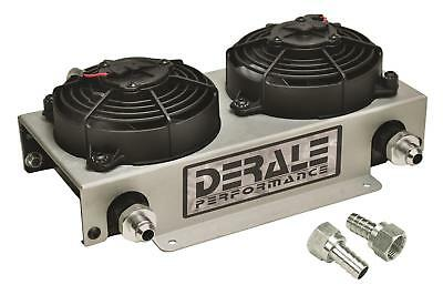Derale Performance Hyper-Cool Remote Fluid Coolers with Fan Kit 15840