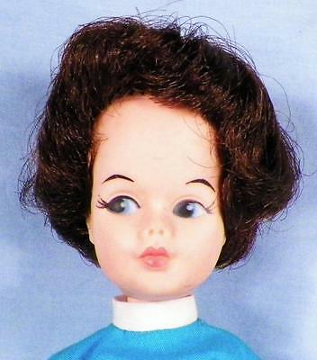 Vintage Lorna Fashion Doll Allied Grant Tammy Clone Marked AE 12in Brown Hair
