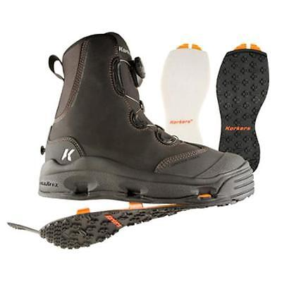 Size 12 Korkers Devils Canyon Wading Fishing Boot Felt + Kling-On Rubber Soles