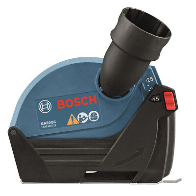 """Bosch 5"""" Small Angle Grinder Dust Collection Attachment GA50UC New"""