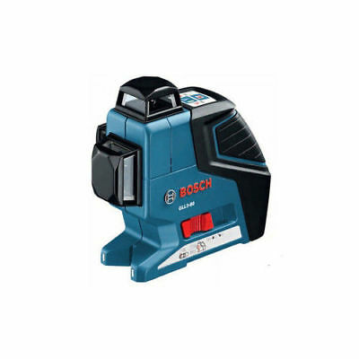 Bosch 360 Degree 3-Plane Leveling and Alignment Line Laser GLL3-80 New