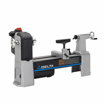 "Delta Woodworking 12-1/2"" Variable-Speed Midi Lathe 46-460 New"