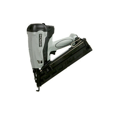 "Hitachi 15-Gauge 2-1/2"" HXP Li-Ion Angle Finish Nailer NT65GAPR New"