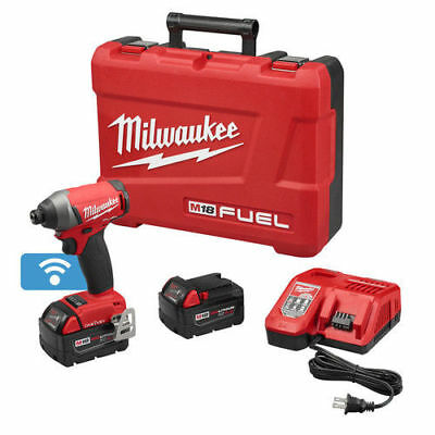 "Milwaukee M18 FUEL Li-Ion 1/4"" Hex Impact Driver Kit w/ ONE-KEY 2757-22 New"