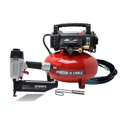 """Porter-Cable 2-1/2"""" Finish Nailer and Compressor Combo Kit PCFP72671 New"""