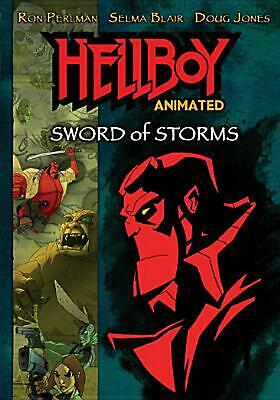 Hellboy Animated:sword of Storms - DVD Region 1 Free Shipping!