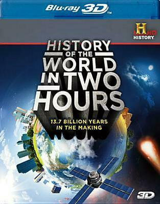 History of the World in Two Hours 3d - Blu-Ray Region 1 Free Shipping!