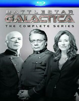 Battlestar Galactica:complete Series - Blu-Ray Region 1 Free Shipping!