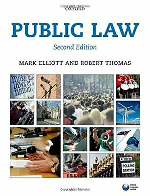 Public Law by Thomas, Robert Book The Cheap Fast Free Post