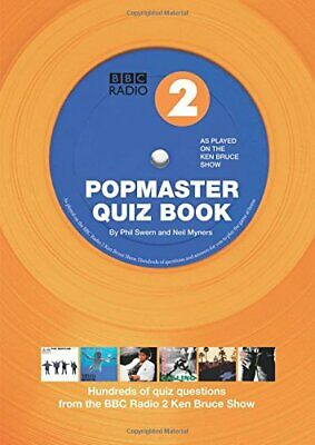 Popmaster Quiz Book, BBC Radio 2: Hundreds of Quiz Questions f... by Swern, Phil