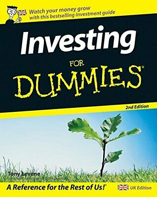 Investing For Dummies by Levene, Tony Paperback Book The Cheap Fast Free Post