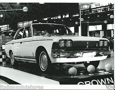 Toyota Crown S Original Motor Show Press Photograph 1966 Excellent Condition