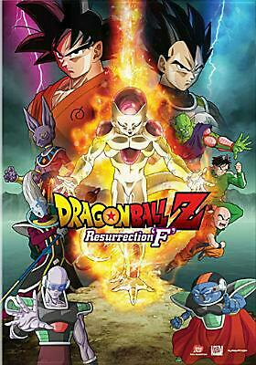 Dragon Ball Z:resurrection F - DVD Region 1 Free Shipping!