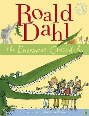 The Enormous Crocodile (Colour Edition) by Dahl, Roald Paperback Book The Cheap