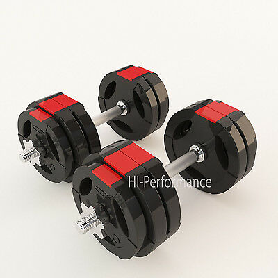 Tri Grip Weight Plates 20kg 30kg 40kg 50kg Dumbbell Sets Free Weights Training