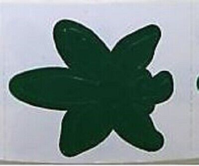 POT LEAF TANNING STICKER OR Scrapbooking Crafts 50 CT