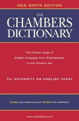 The Chambers Dictionary Hardback Book The Cheap Fast Free Post