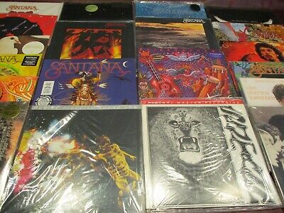 SANTANA 10 TIME Grammy Award Winner AUDIOPHILE LIMITED 17 TITLES 180 GRAM LP SET