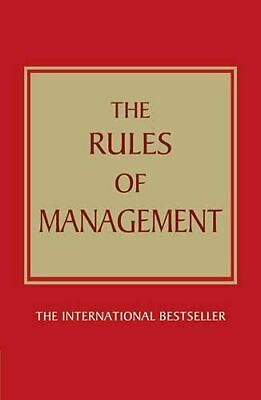 The Rules of Management:A definitive code for managerial su..., Templar, Richard