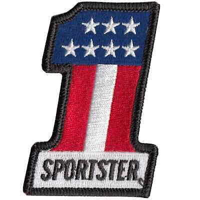 Lowbrow Customs #1 Sportster Motorcycle Patch